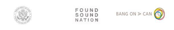Found Sound Nation logos