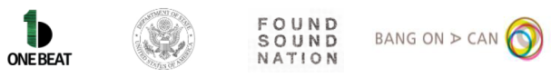 OneBeat US State Found Sound Bang On logo