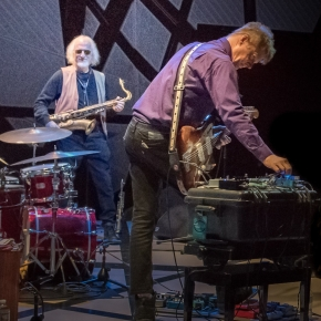 Nels Cline/Larry Ochs/Gerald Cleaver- Thursday, April 11th at Iron Cow Cafe
